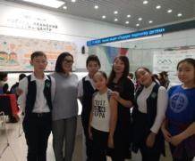 Воспитанники «Айылгы» в благотворительной акции «Подари подписку детям»