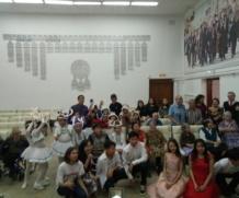 Благотворительный концерт в якутском дом-интернате для престарелых и инвалидов