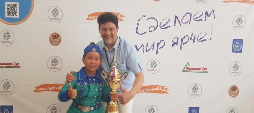 Воспитанник «Айылгы» Антонов Петя – обладатель Гран-при в международном фестивале-конкурсе